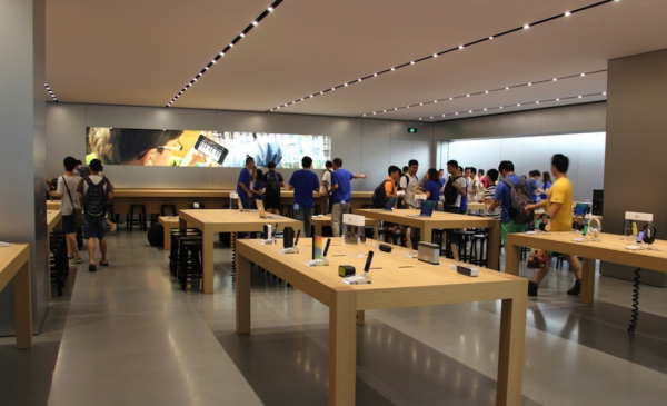苹果直营店介绍之Apple Store无锡恒隆广场店-手机维修网