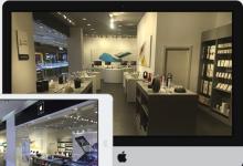 吉林丰满区苹果维修点:飞翔电讯(吉林欧亚综合体店)图片