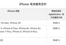 苹果换电池计划:iPhone换电池优惠政策2018年底结束-手机维修网