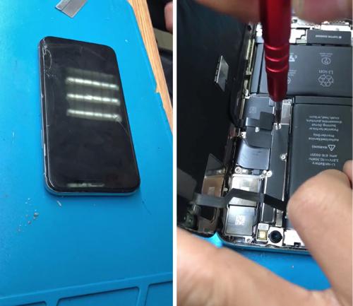 苹果手机进水花屏了怎么办?海口苹果维修点教你轻松解决!