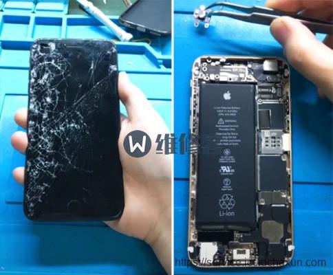 上海手机维修点告诉你苹果手机换屏幕多少钱?