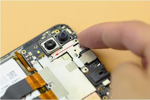 vivo X23手机拆机维修教程