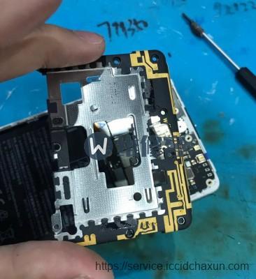 上海手机维修为您分享小米mix2陶瓷版手机屏幕换屏维修过程