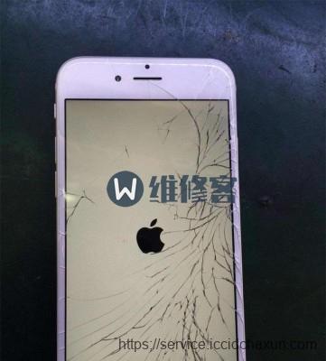 上海手机维修告诉你苹果手机屏幕坏了怎么办?