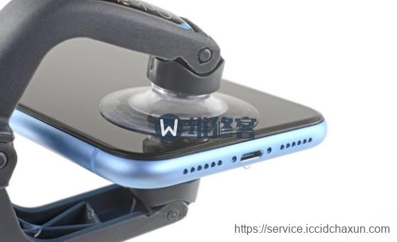 成都苹果iPhone XR手机拆解更换扬声器维修教程