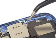成都苹果iPhone XR手机拆解更换扬声器维修教程-手机维修网