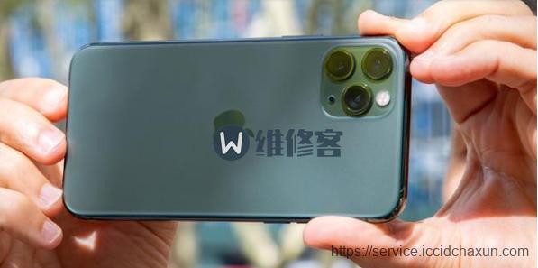 上海苹果维修点教你iphone 11pro手机拍照绿屏解决方法