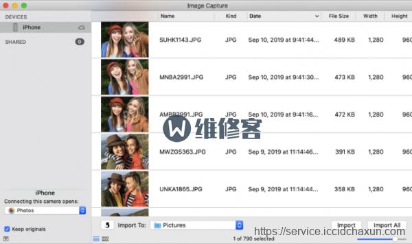 如何将iphone里面的照片视频拷贝到Mac电脑?