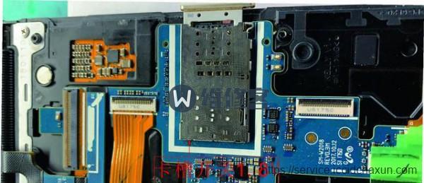 上海手机维修告诉你三星手机进水没有信号怎么办?