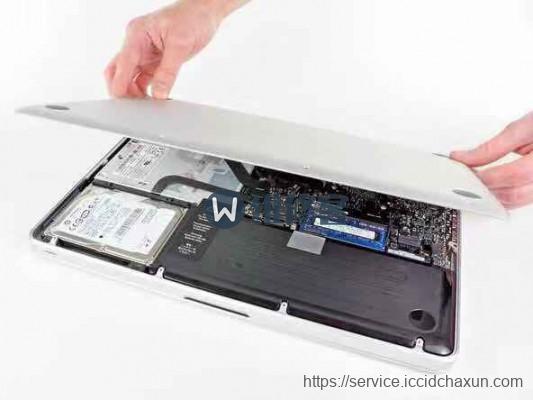 广州苹果电脑MacBook Pro 13更换电池图文教程详解
