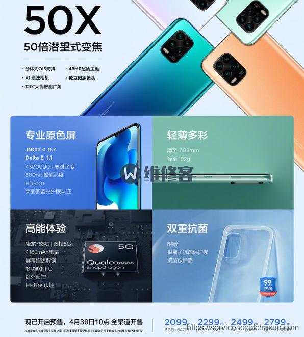 iPhone 5G款发布会时间或推迟 一张图带你了解小米10